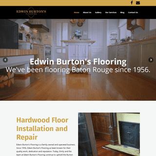 Edwin Burton's Flooring - Hardwood Refinishing & Installation