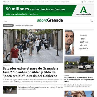 Ahora Granada - tu provincia, tu pueblo, tu barrio Ahora Granada