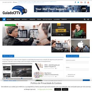 Guia do CFTV - Sistemas de CFTV, IP, Segurança Eletrônica, Conectividade, Informações, Fórum e Tecnologia - GuiadoCFTV