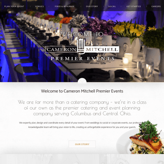 Cameron Mitchell Premier Events - Catering and Event Planning - Columbus, OHCameron Mitchell Premier Events