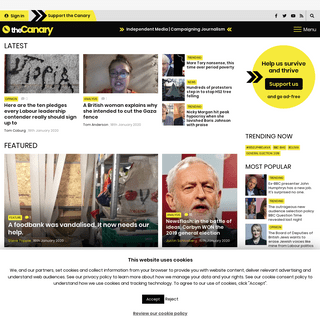 Independent Media - Campaigning Journalism - The Canary