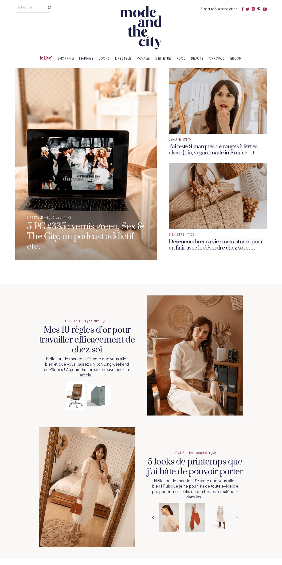 Mode and The City — Blog mode, beauté et lifestyle à Paris par Daphné