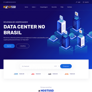 Revenda e Hospedagem de Sites, Servidor no Brasil
