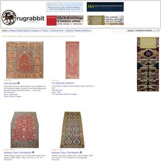 ArchiveBay.com - rugrabbit.com - rugrabbit.com - Antique Rugs and Carpets - Asian Art - Tribal Art