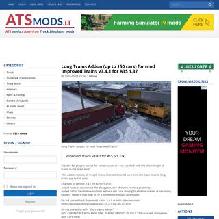 ATS mods - American Truck Simulator mods
