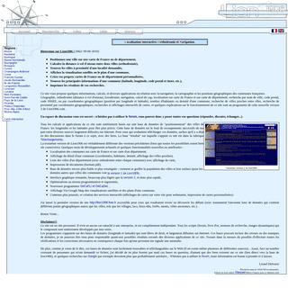 Lion1906 - Localisation Interactive Orthodromie et Navigation