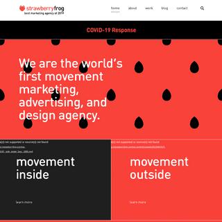 StrawberryFrog - Movement Marketing - Advertising Agency In NYC