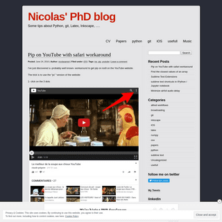 Nicolas' PhD blog - Some tips about Python, git, Latex, Inkscape, ….