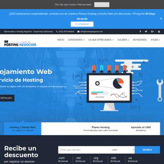 Inicio - Alojamiento y Diseño Web