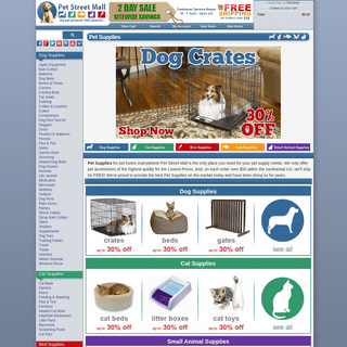 Pet Supplies, Pet Accessories, and More on Sale Now!