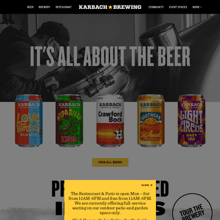 ArchiveBay.com - karbachbrewing.com - It's All About The Beer – Karbach Brewing Co.