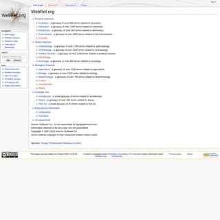 WebRef.org