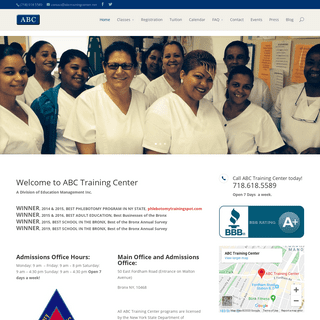 Medical and Career Training in New York City - ABC Training Center