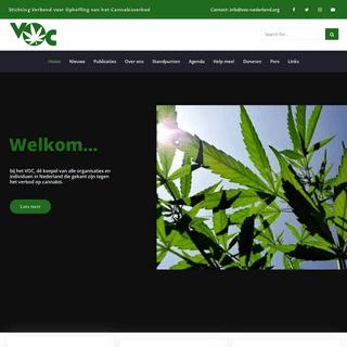 Stichting Verbond voor Opheffing van het Cannabisverbod (VOC)