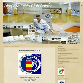Blog Gimnasio Club Baldor