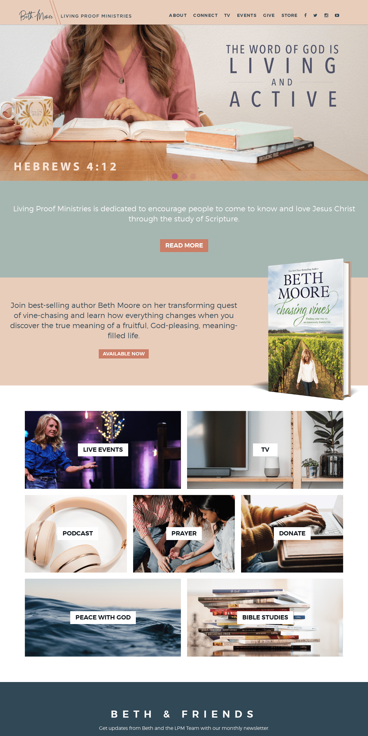 Living Proof Ministries - Beth Moore - Official Site