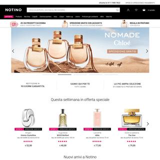 Profumi e cosmetici online - Profumeria Notino