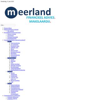 meerland - Home