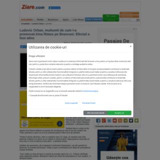 ArchiveBay.com - www.ziare.com/ludovic-orban/premier/ludovic-orban-multumit-de-cum-l-a-promovat-irina-rimes-pe-brancusi-efectul-a-fost-atins-1598334 - Ludovic Orban, multumit de cum l-a promovat Irina Rimes pe Brancusi- Efectul a fost atins