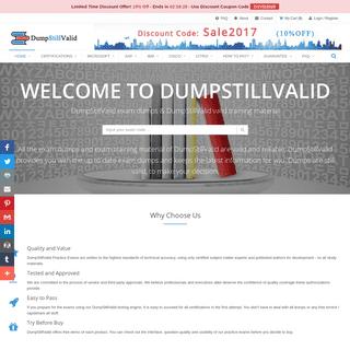 DumpStillValid exam dumps & DumpStillValid valid training material