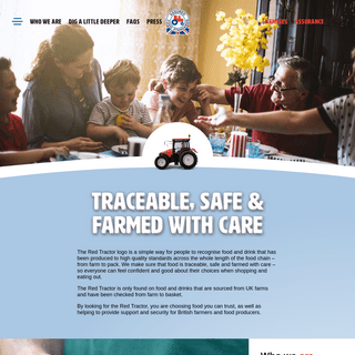Red Tractor Assurance - Assured Food Standards - Red Tractor