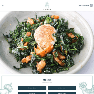 Arcana – Restaurant