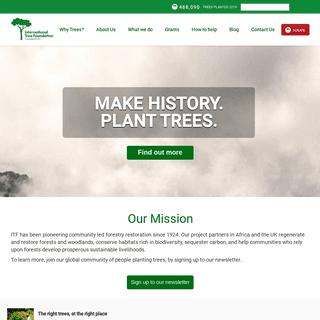 ITF Home - International Tree Foundation