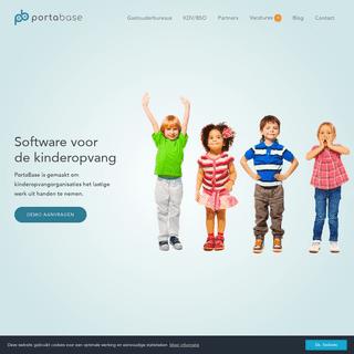 Compleet softwarepakket voor kinderopvang - PortaBase