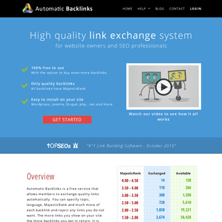 ArchiveBay.com - automaticbacklinks.com - Automatic Backlinks - Link exchange system with free backlinks