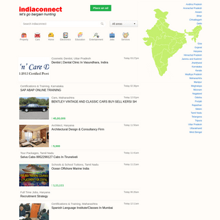 Free ads Free Classifieds Indiaconnect.com