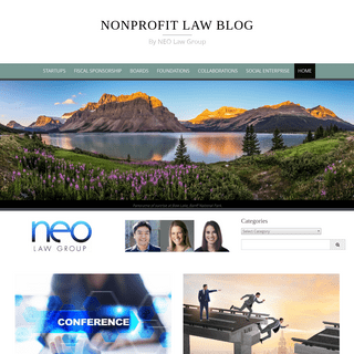 Nonprofit Law Blog - By NEO Law Group