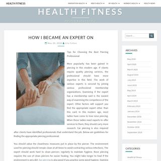Health Fitness - Health Sanantonio