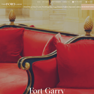 The Fort Garry Hotel - Historic Hotel in Downtown Winnipeg - Book Now!