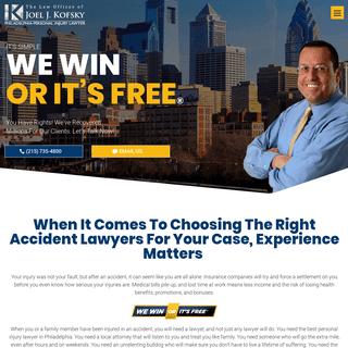 Philadelphia Car Accident Lawyers - Personal Injury Attorney