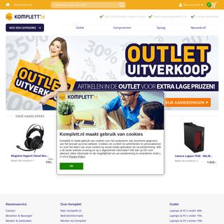 Komplett.nl - Dé internetshop van Nederland