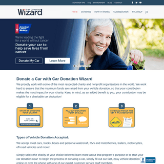 Donate a Car to a Recognized Charity Today! - Car Donation Wizard