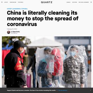 ArchiveBay.com - qz.com/1803255/china-is-disinfecting-banknotes-to-stop-spread-of-coronavirus/ - China is disinfecting banknotes to stop spread of coronavirus — Quartz