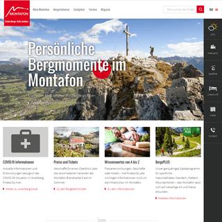 Urlaub im Montafon - Offizielle Webseite für Urlaub & Hotels