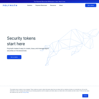 Polymath - Security token solutions start here.