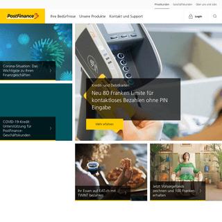ArchiveBay.com - postfinance.ch - PostFinance für Privatkunden