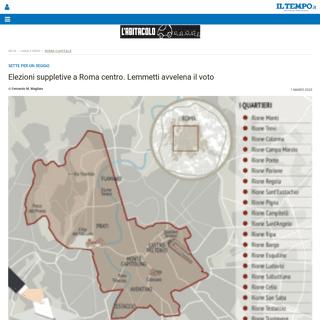 Elezioni suppletive a Roma centro. Lemmetti avvelena il voto - Il Tempo