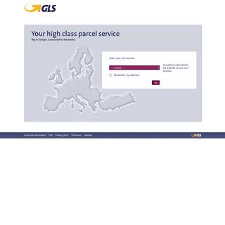 GLS- Your high class parcel service