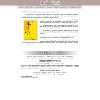 Palabra Virtual. Antología de poesia iberoamericana