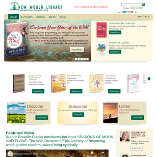 New World Library - Books That Change Lives - Personal Growth Books, Audio CDs, Author Information & More