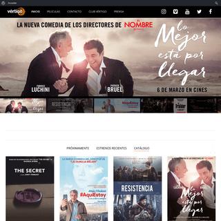 Vértigo Films – Distribuidora de películas de cine