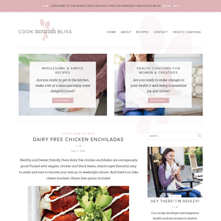 Cook Nourish Bliss - Wholesome Recipes - Health Coaching for Creatives
