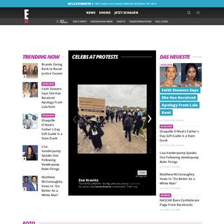 Promi News, Klatsch und Tratsch, Bilder und Videos von den Stars - E! Online Deutschland