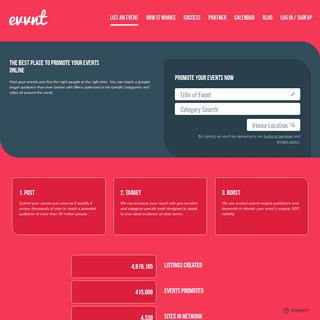 ArchiveBay.com - evvnt.com - Evvnt - The Best Place To Promote Your Event Online