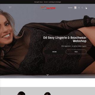 Anna van Rode, dé sexy lingerie en beachwear webshop - Anna van Rode