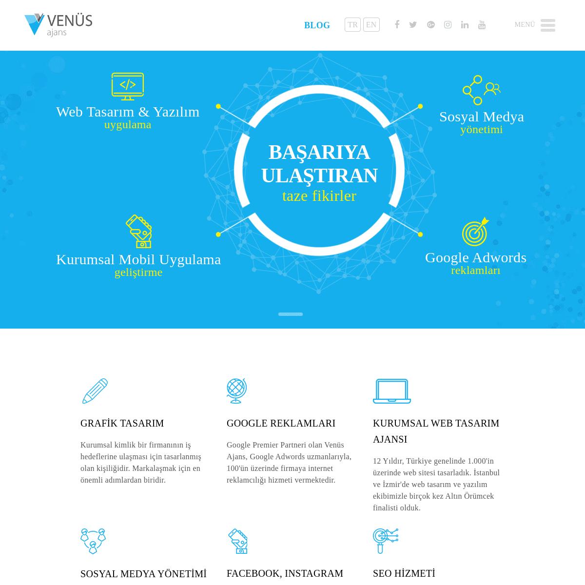 ArchiveBay.com - venusajans.com - Venüs Ajans - Web Tasarım İzmir Dijital Reklam Ajansı